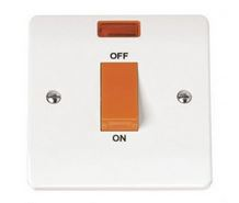 COOKER SWITCH   NEON 1GANG SMALL