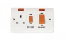 COOKER CONTROL PANEL- SOCKET    NEON