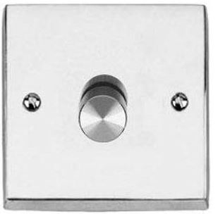 DIMMER Switch Push On/Off 1 Gang 2Way Plain P
