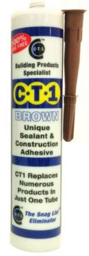 SILICONE AND ADHESIVE BROWN