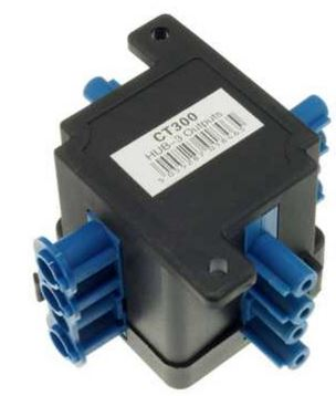 250V 20A 4PIN 1IN 3OUT FLOW HUB BOX