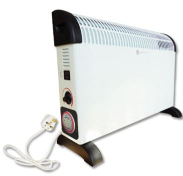 2KW CONVECTOR HEATER C/W TIMER