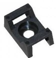 CABLE TIE SADDLE BASE