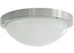 16W HF 2D FTG BATHROOM DOME SATIN NIC