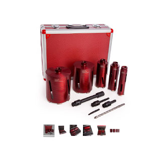 CORE BIT SET - 5PIECE DIAMOND KIT