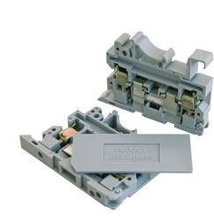 DIN RAIL TERMINAL 6-10mm GREY STA10