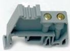 DIN RAIL END STOP STEL35