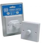 1 GANG 1000W DIMMER -SINGLE PLATE