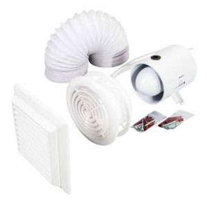 Fan Pack Standard Axial In-Duct Fan + Timer A