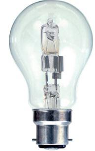 42W BC GLS LAMP = 60W