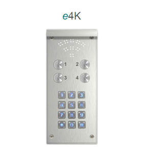 DOOR ENTRY GSM 4WAY WITH KEYPAD