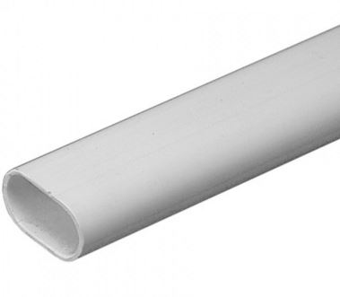 16mm OVAL CONDUIT 3MTR