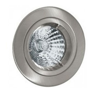 DOWNLIGHT GU10 FIXED SATIN NICKEL