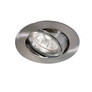 DOWNLIGHT GU10 TILT ADJUST. SATIN NICKEL