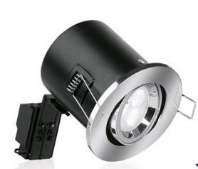 TILT FIRE RATED DOWNLIGHT  (NO LAMP)