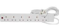 EXTENSION LEAD SURGE PROTECTED