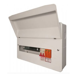CONSUMER UNIT 14WAY C/W SPD   8 RCBO
