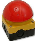 EMERGENCY STOP DOME BUTTON
