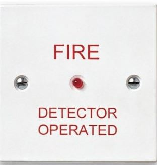 FIRE ALARM INDICATOR - REMOTE