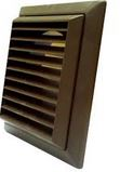 FIXED GRILL 100mm 4 INCH BROWN