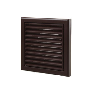 GRILL FIXED 150mm 6 INCH BROWN