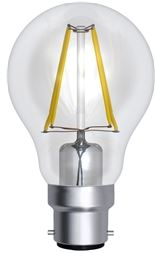 8WATT LED FILAMENT GLS LAMP B22 BC-