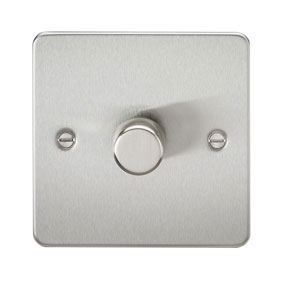 FLAT PLATE 1GANG 2WAY 400W DIMMER