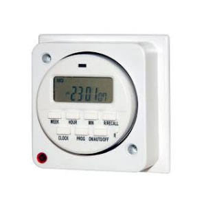 FLUSH IMMERSION TIMER 7 DAY ELECTRONIC