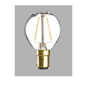 4WATT LED SBC-CLEAR GOLF BALL