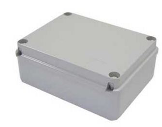 BOX 120x80x50mm GREY PLASTIC