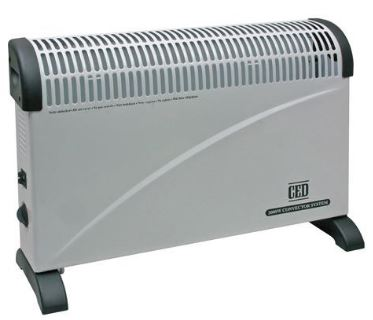 2KW CONVECTOR HEATER WITH STAT