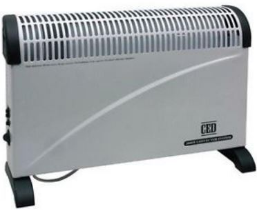 2KW CONVECTOR HEATER C/W TURBO FAN