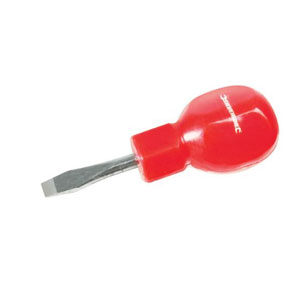 STUBBY SCREW DRIVER - SLOTTED