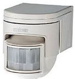 PIR DETECTOR WHITE 140 DEGREE RANGE