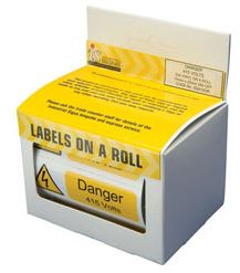 DANGER 415V VOLTS (250)