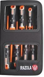 SCREWDRIVER SET (7 PIECE) IN PLASTIC CASE