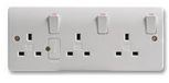 3GANG SWITCHED SOCKET