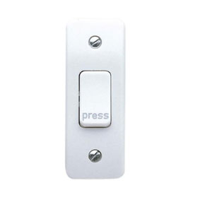 1G ARCHITRAVE PRESS SWITCH