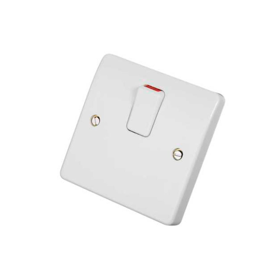 20A DP SWITCH C/W NEON