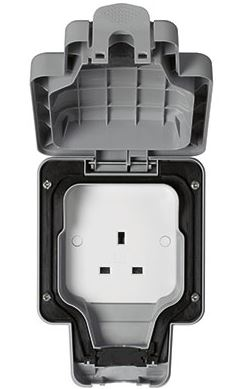1G UNSWITCHED SOCKET IP66