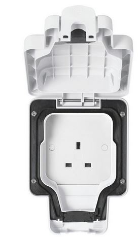 1G UNSWITCHED SOCKET IP56
