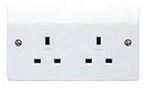 2G UNSWITCHED SOCKET 13A