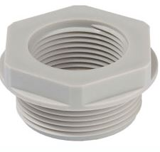 REDUCER 25-20mm PVC GREY