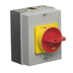 25A 4POLE IP65ROTARY ISOLATOR
