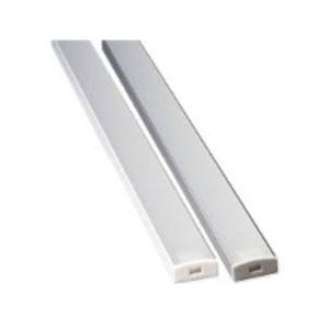 17.5x8MM LED SLIM PROFILE 1MTR ALUMINIUM