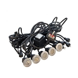 DECK LIGHT 10-HEAD KIT ROUND