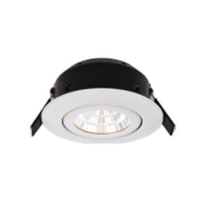 DOWNLIGHT 7WATT LED TILT WHITE IP44