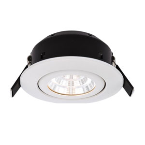 DOWNLIGHT 7WATT LED TILT WHITE IP44