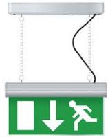 3WATT  LED M3 HANGING  EXIT SIGN