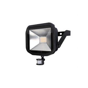 FLOODLIGHT LED WITH PIR 30W BLACK 5K